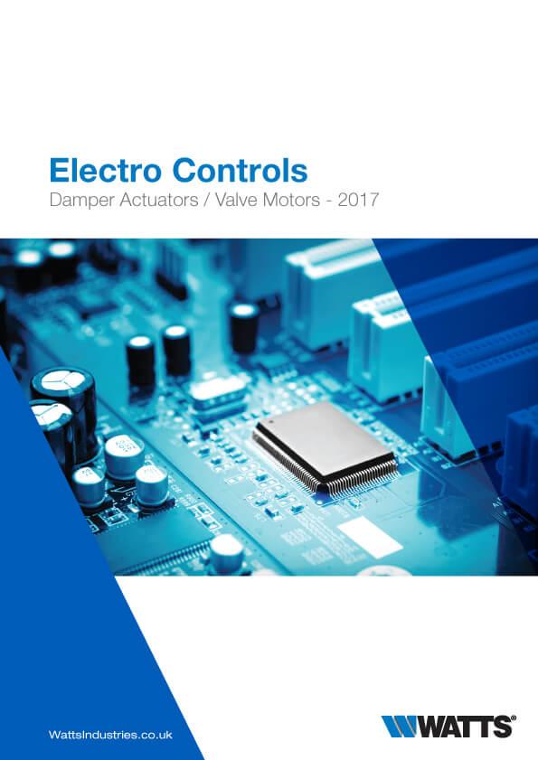 Damper actuators valve motors brochure